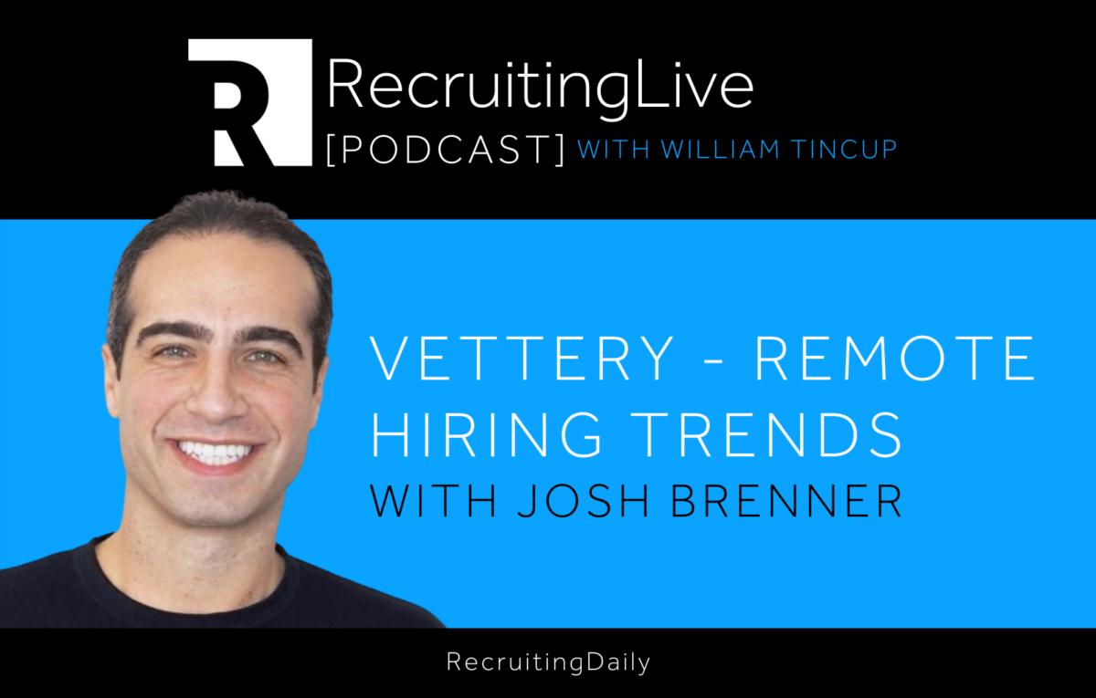 Josh Brenner, Vettery + Hired