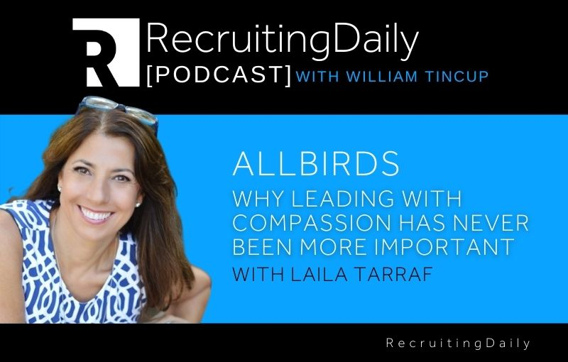 Allbirds - Why Leading with Compassion has Never Been More Important With Laila Tarraf