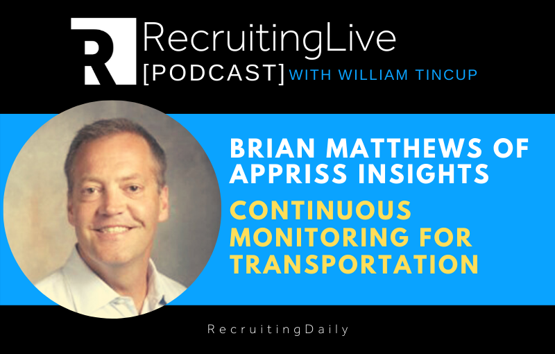 Appriss Insights – Continuous Monitoring for Transportation with Brian Matthews