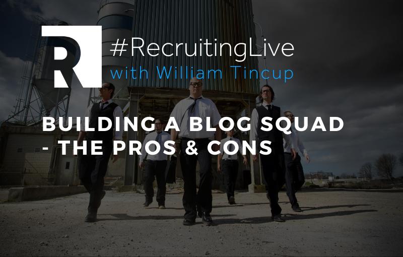 Building a Blog Squad - The Pros & Cons