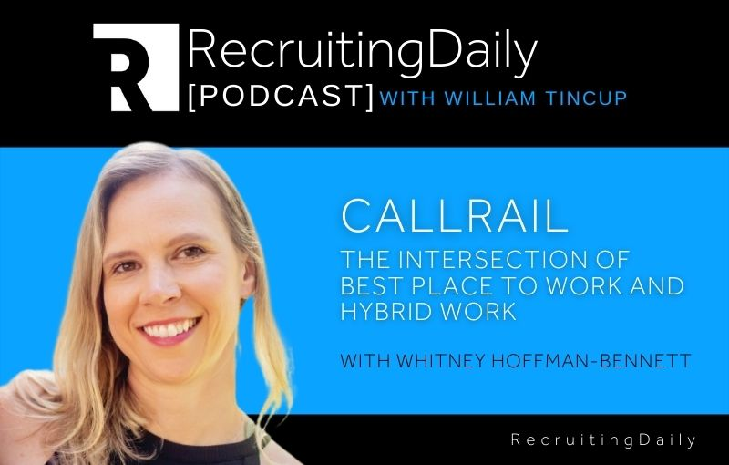 CallRail - The Intersection Of Best Place To Work And Hybrid Work With Whitney Hoffman-Bennett