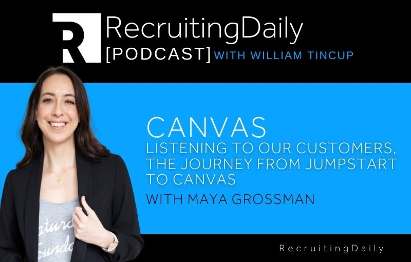 Canvas - Listening To Our Customers, The Journey From Jumpstart To Canvas With Maya Grossman