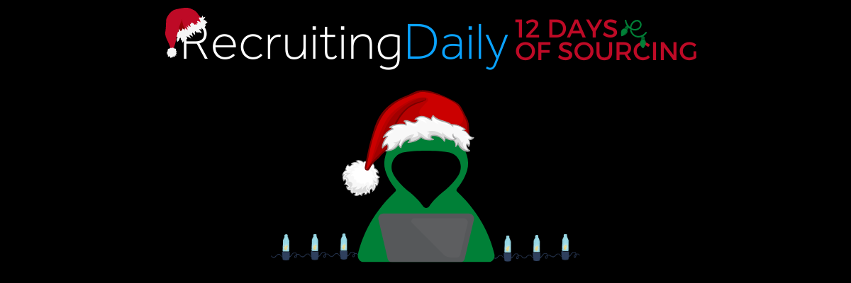 12 Days of Sourcing