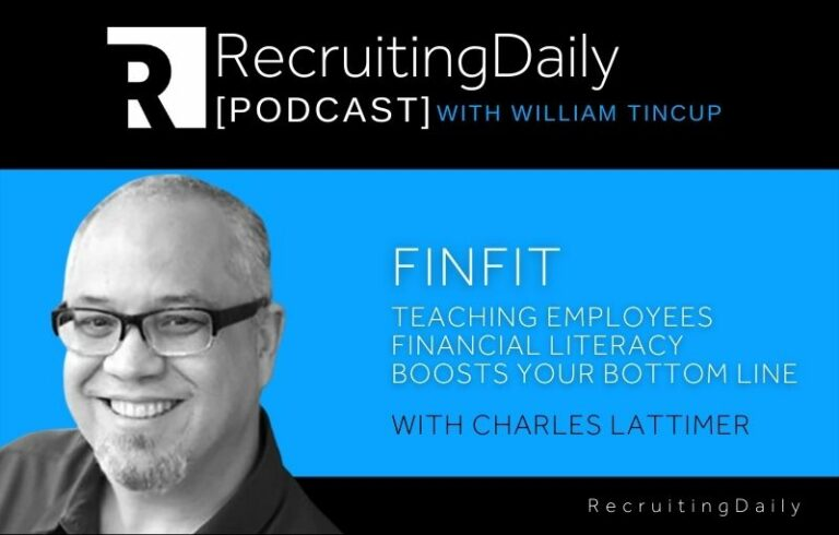 FinFit: Teaching Employees Financial Literacy Boosts Your Bottom Line With Charles Lattimer