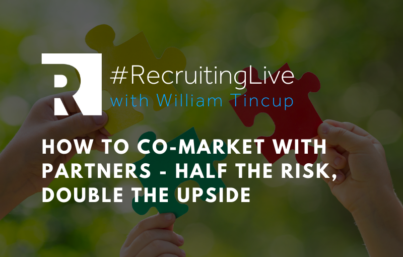 How to Co-Market with Partners: Half the Risk, Double the Upside