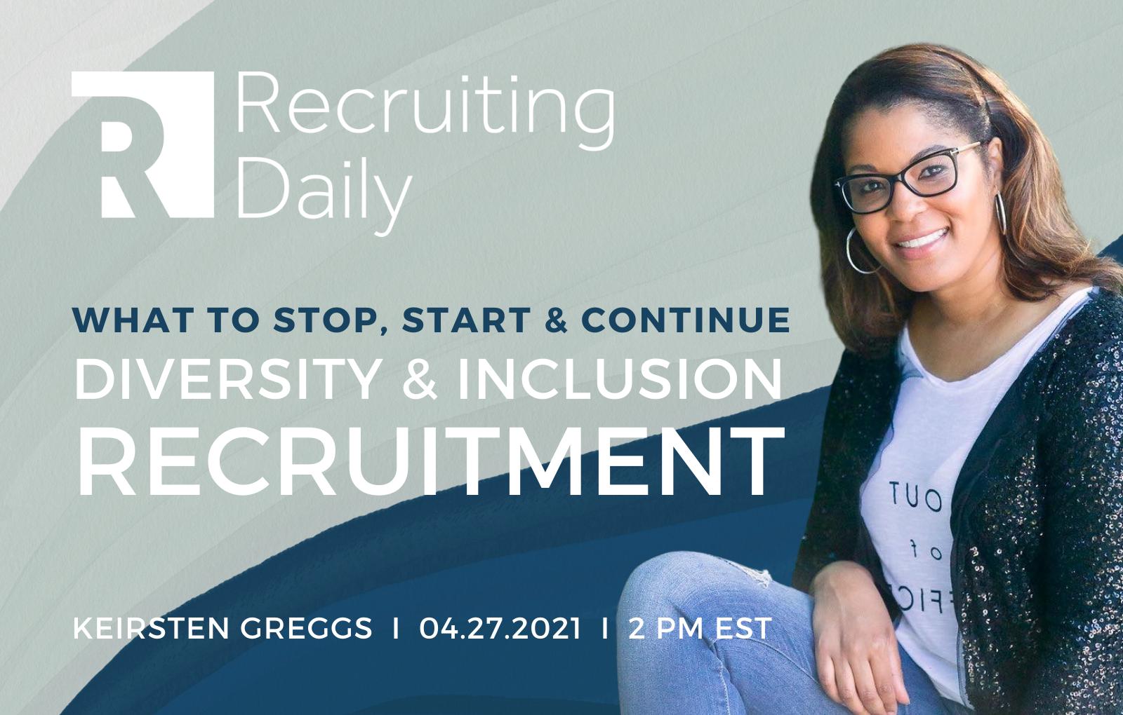 D&I Recruitment, Keirsten Greggs