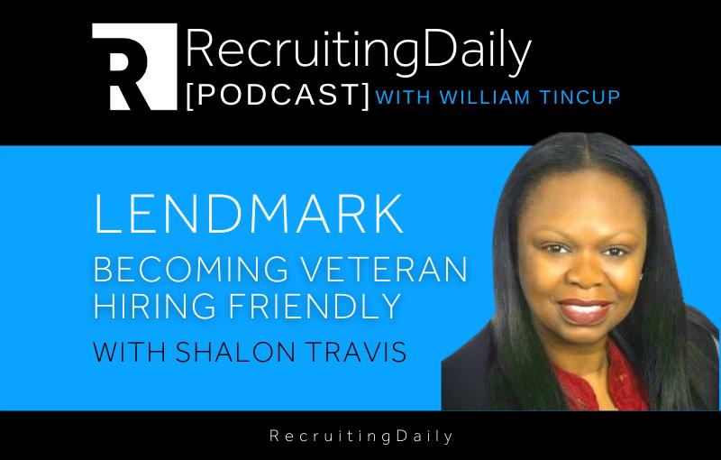 Lendmark – Becoming Veteran Hiring Friendly With Shalon Travis