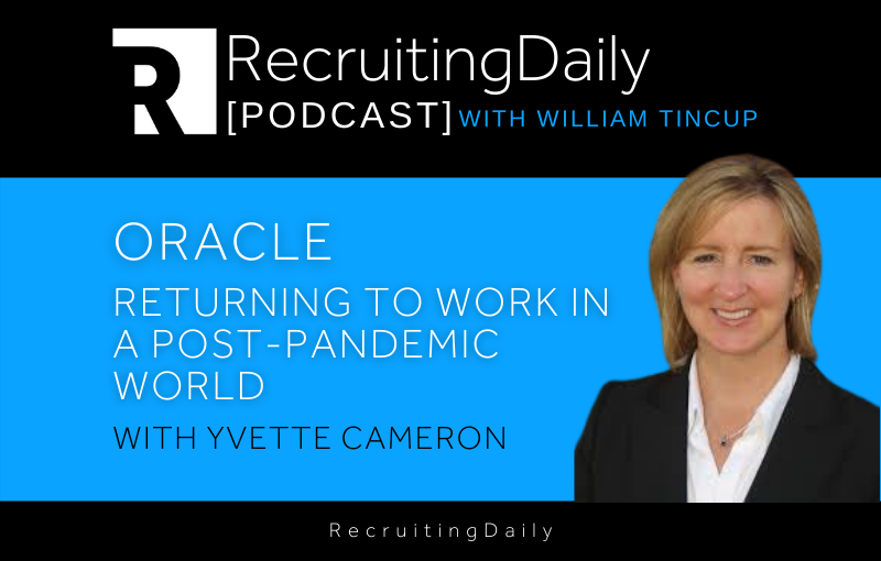 Oracle – Returning to Work in Post-Pandemic World with Yvette Cameron