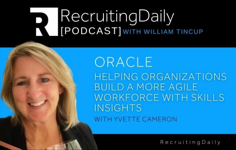 Oracle Helps Organizations Build a More Agile Workforce with Skills Insights with Yvette Cameron