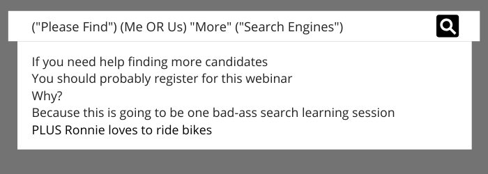 Custom Search Engines with Ryan Leary and Ronnie Bratcher