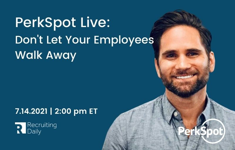 PerkSpot Live Don't Let Your Employees Walk Away