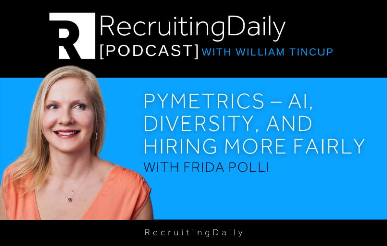 Pymetrics – AI, Diversity and Hiring More Fairly with Frida Polli