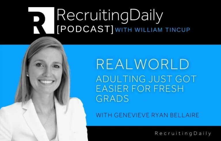 Realworld – Adulting Just Got Easier For Fresh Grads With Genevieve Ryan Bellaire