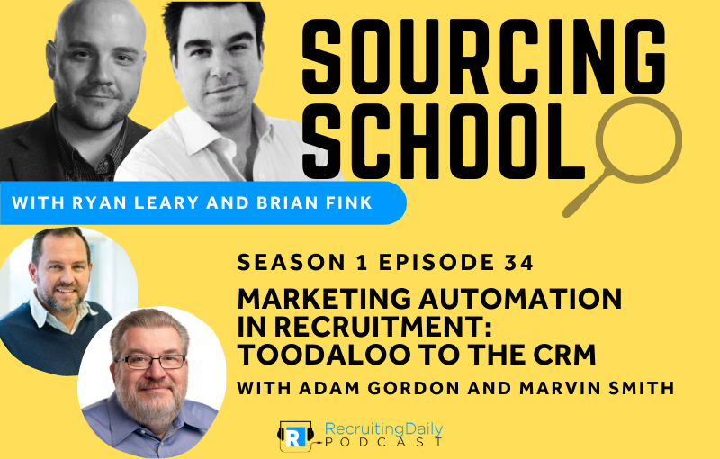 S1e34 Marketing Automation in Recruitment Toodaloo to the CRM