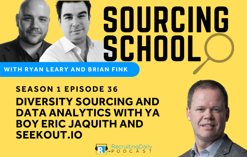 S1e36 Diversity Sourcing and Data Analytics with Ya Boy Eric Jaquith and Seekout