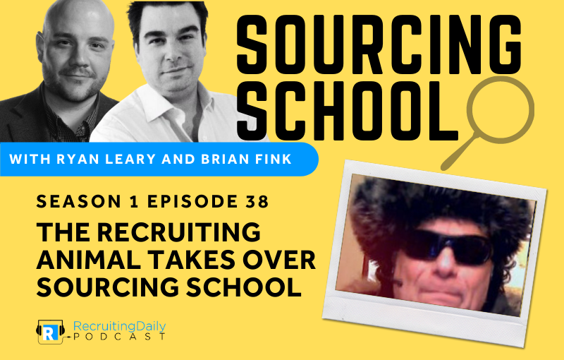 S1e38 The Recruiting Animal Takes Over Sourcing School