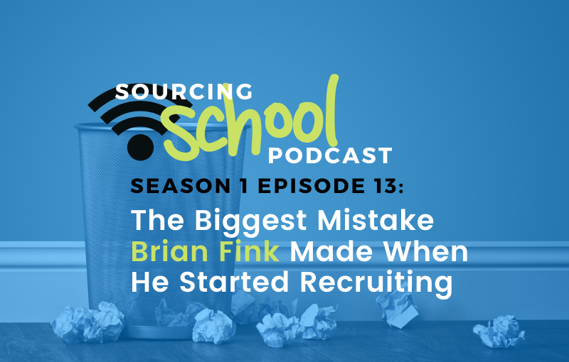 The Biggest Mistake Brian Fink Made When He Started Recruiting