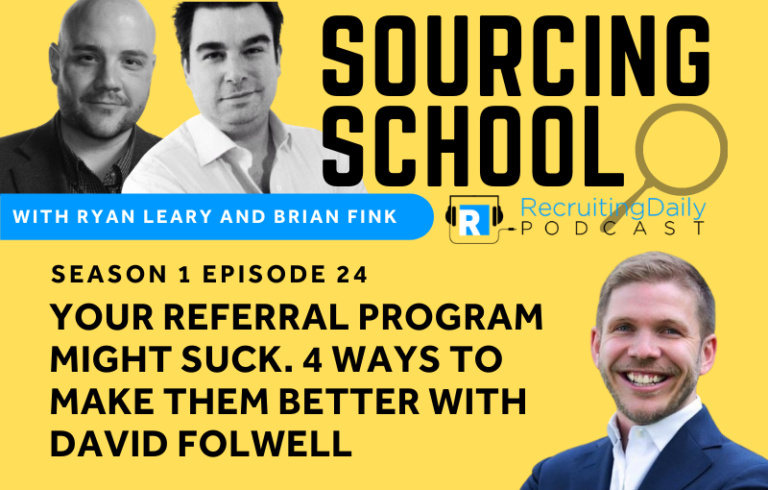 Sourcing School: Your Referral Program Might Suck. 4 Ways to Make Them Better
