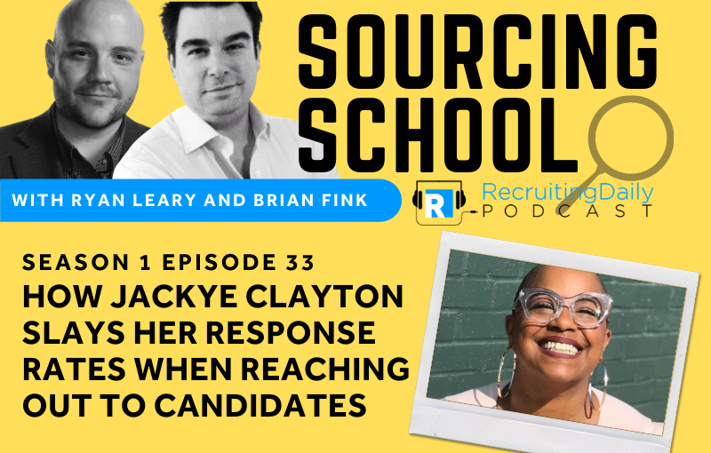 Sourcing School S1e33 How Jackye Clayton Slays Her Response Rates When Reaching Out To Candidates
