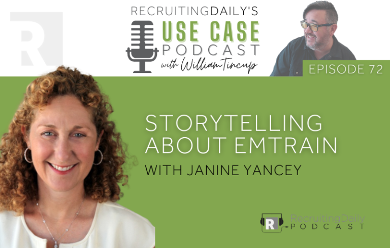 The Use Case Podcast: Storytelling about Emtrain with Janine Yancey