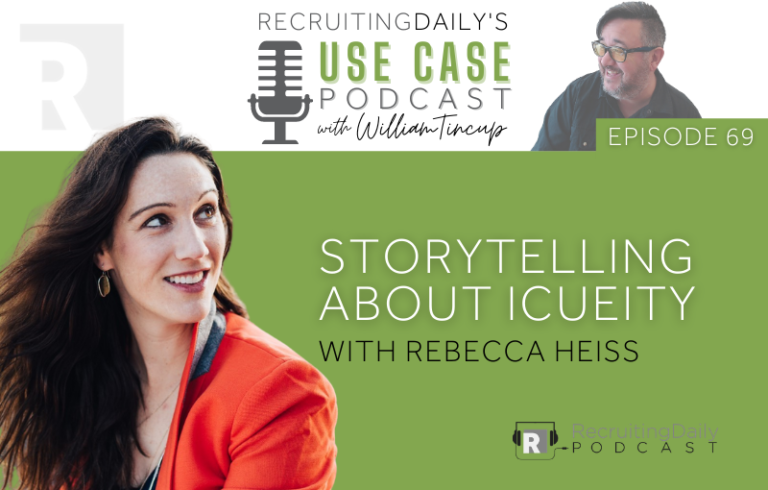 The Use Case Podcast: Storytelling about Icueity with Rebecca Heiss