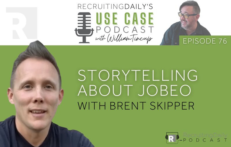 Storytelling about Jobeo with Brent Skipper