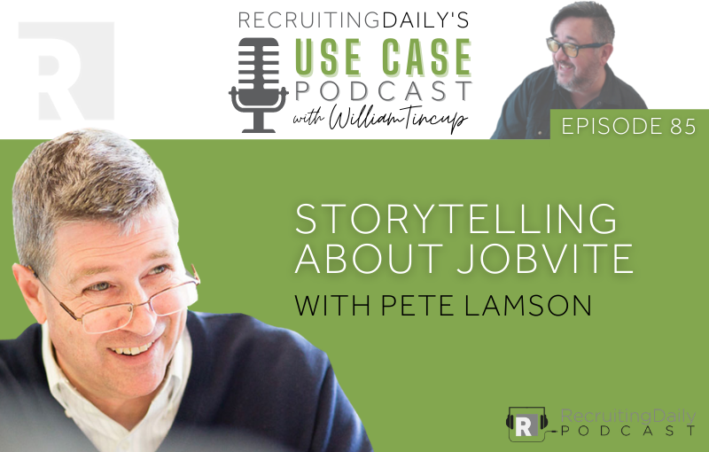 Storytelling about Jobvite with Pete Lamson