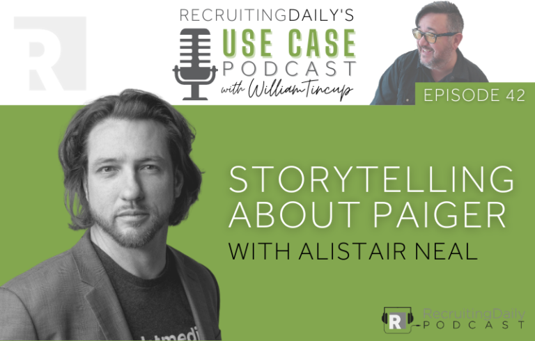 The Use Case Podcast: Storytelling about Paiger with Alistair Neal