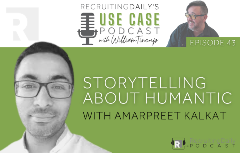 The Use Case Podcast: Storytelling about Humantic with Amarpreet Kalkat