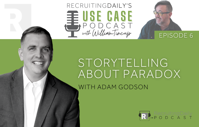 Storytelling about Paradox with adam godson