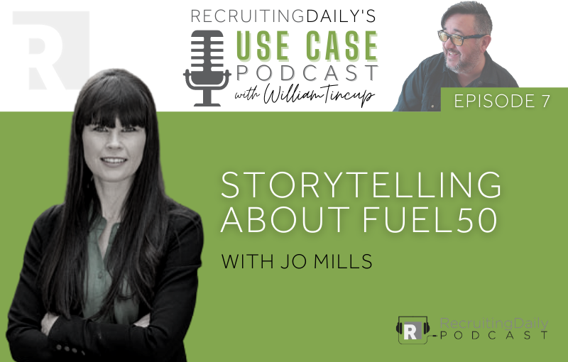 storytelling about fuel50 with jo mills