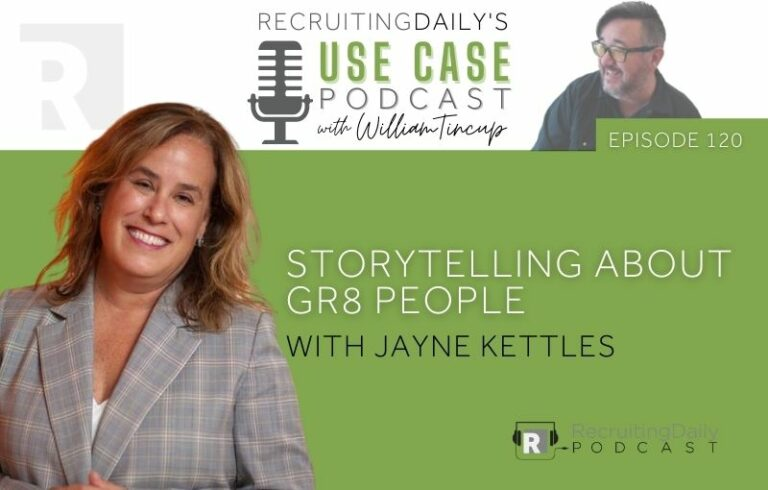 The Use Case Podcast: Storytelling about GR8 People with Jayne Kettles