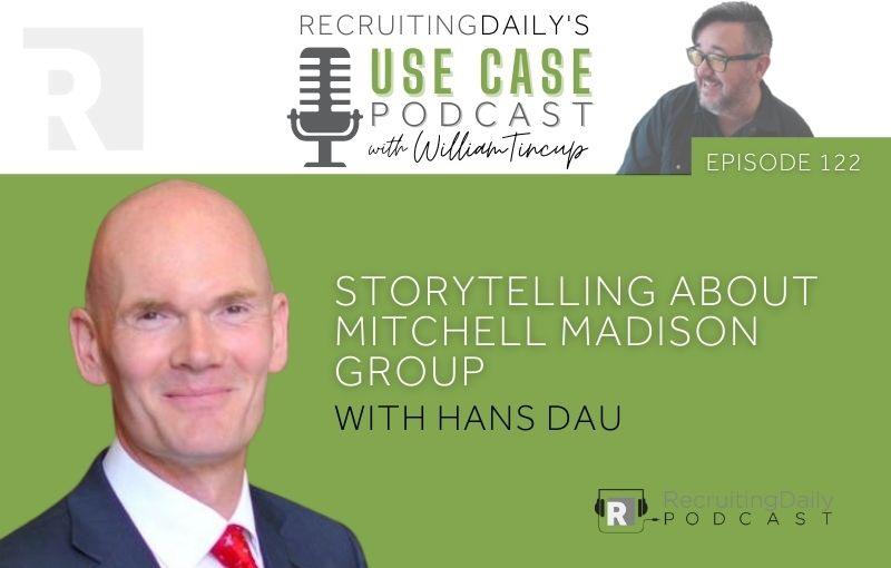 The Use Case Podcast - Storytelling about Mitchell Madison Group with Hans Dau