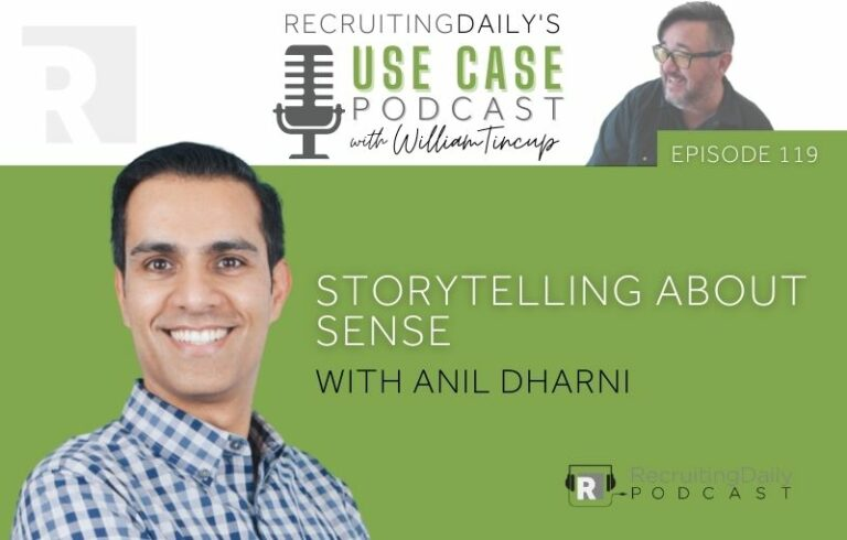 The Use Case Podcast: Storytelling about Sense with Anil Dharni
