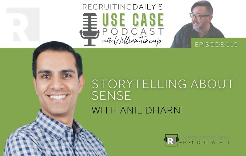 The Use Case Podcast - Storytelling about Sense with Anil Dharni