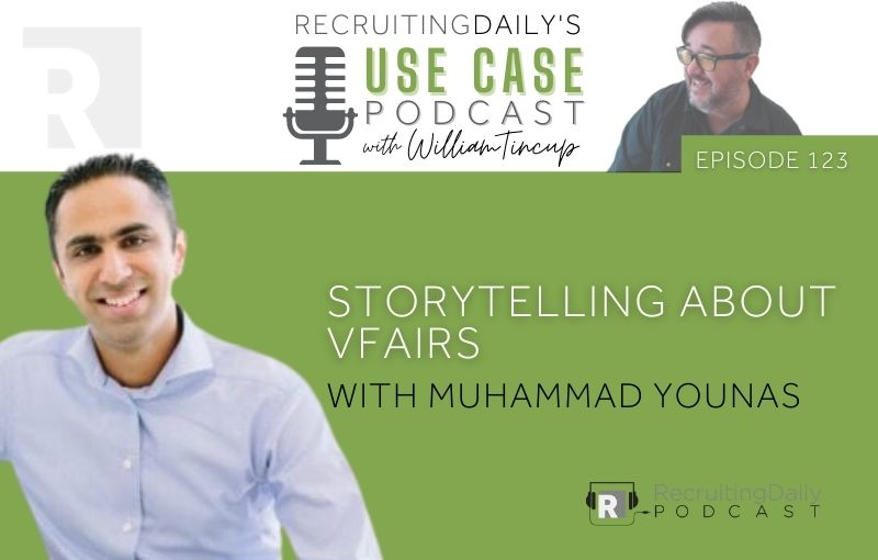 The Use Case Podcast - Storytelling about vFairs with Muhammad Younas