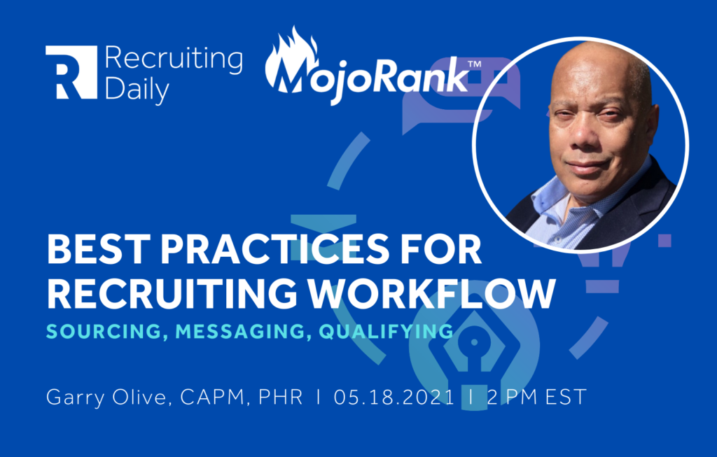 Best Practices for Recruiting Workflow Webinar