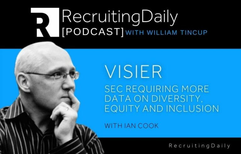 Visier – SEC Requiring More Data On Diversity, Equity And Inclusion With Ian Cook