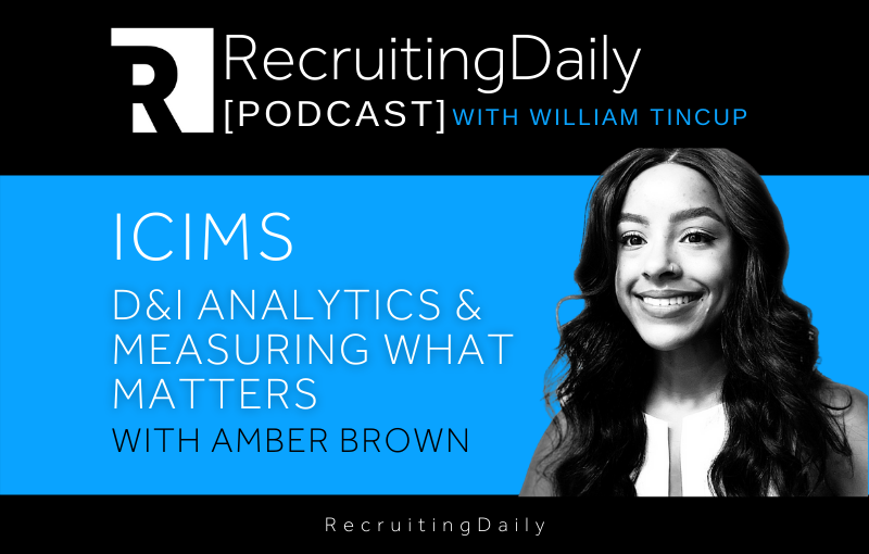 iCIMS - D&I Analytics Measuring What Matters With Amber Brown