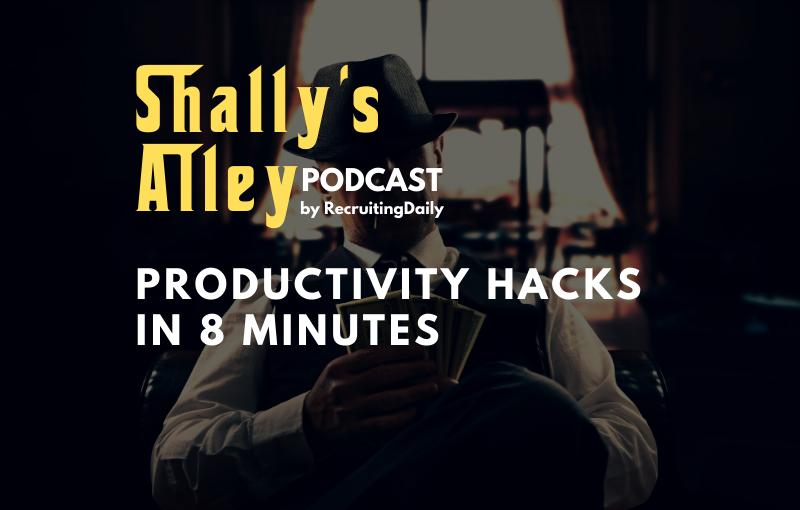 productivity hacks in 8 minutes