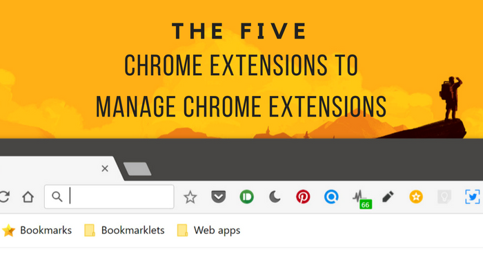 Manage Chrome Extensions