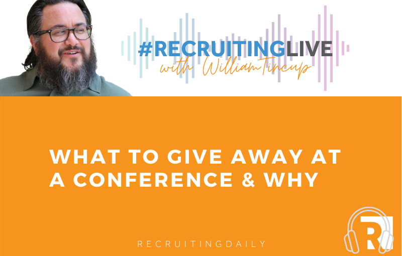 what to give away at a conference