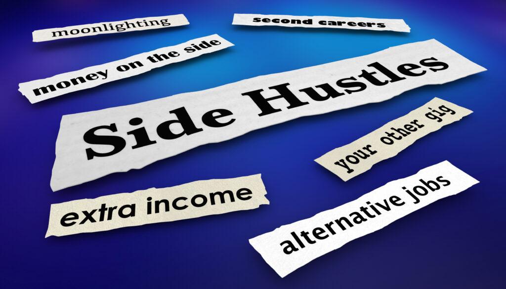 Side Hustles Second Gigs Jobs
