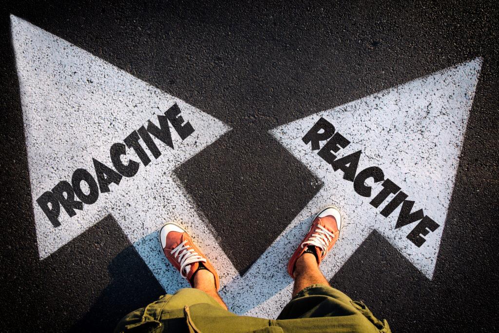 Proactive or reactive recruitment recruiting