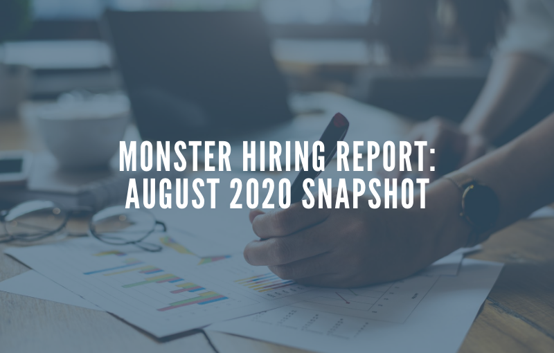 monster data hiring report