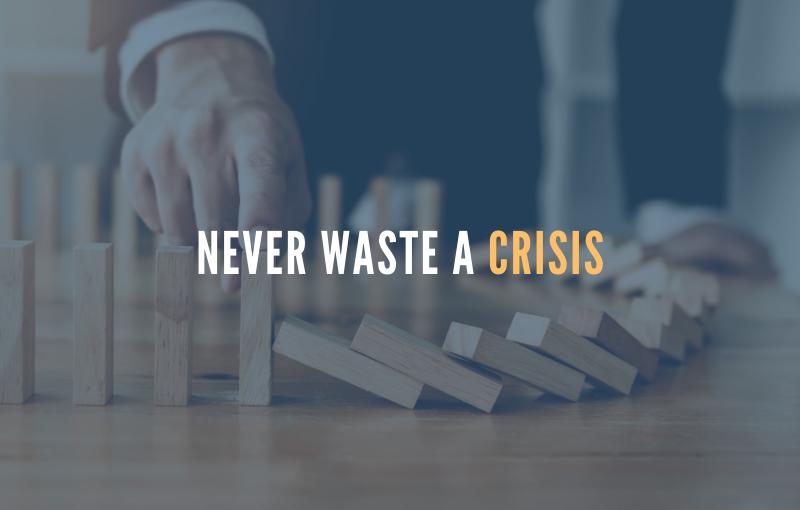 waste a crisis