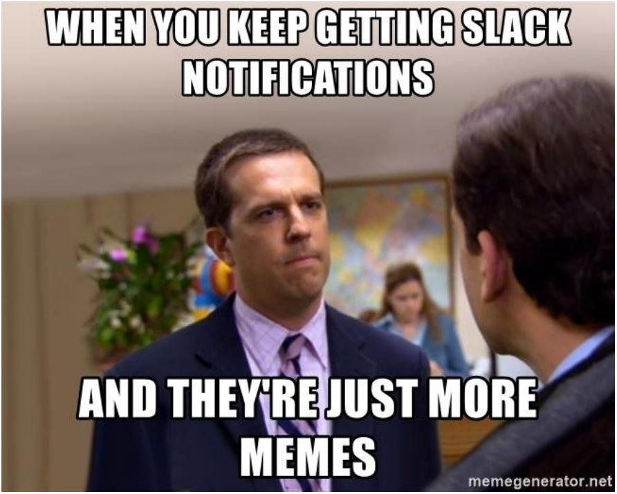 Office Slack Meme