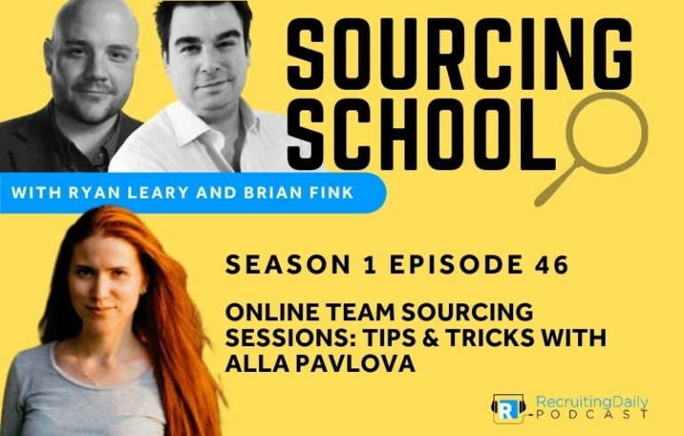 Online Team Sourcing Sessions: Tips & Tricks with Alla Pavlova
