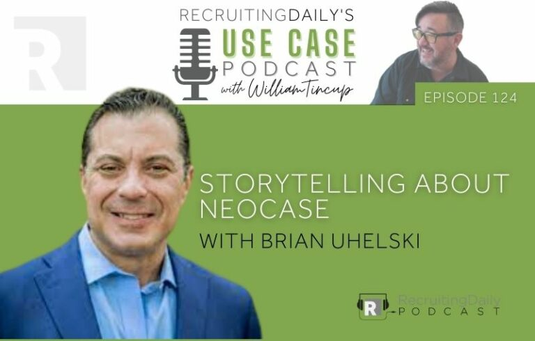 The Use Case Podcast: Storytelling about Neocase with Brian Uhelski