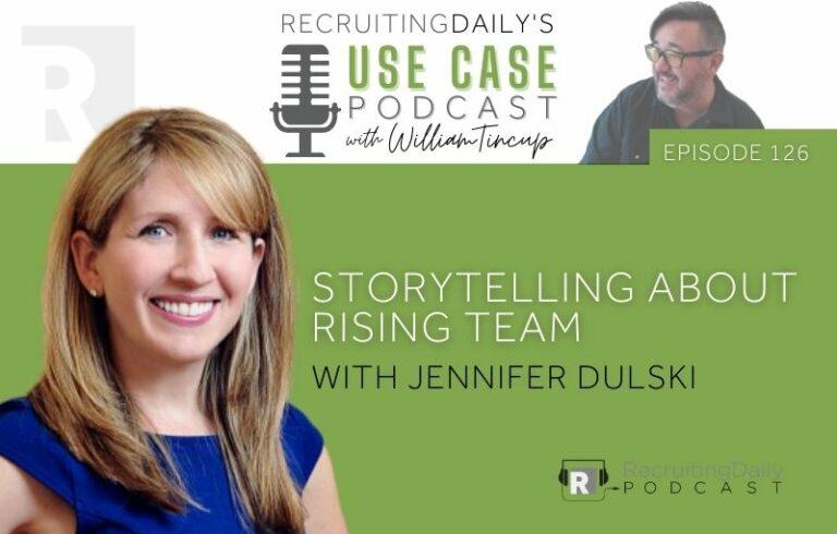 The Use Case Podcast: Storytelling about Rising Team with Jennifer Dulski